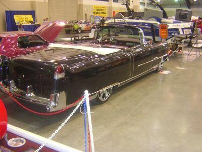 1954 CADILLAC SERIES 62 CONVERTIBLE - Rear 3/4 - 60962