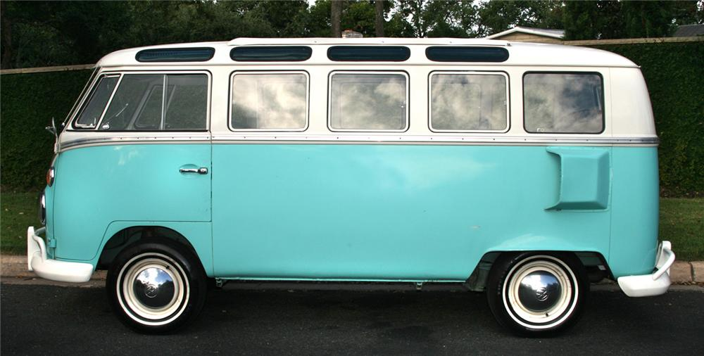 1964 VOLKSWAGEN 21 WINDOW VAN