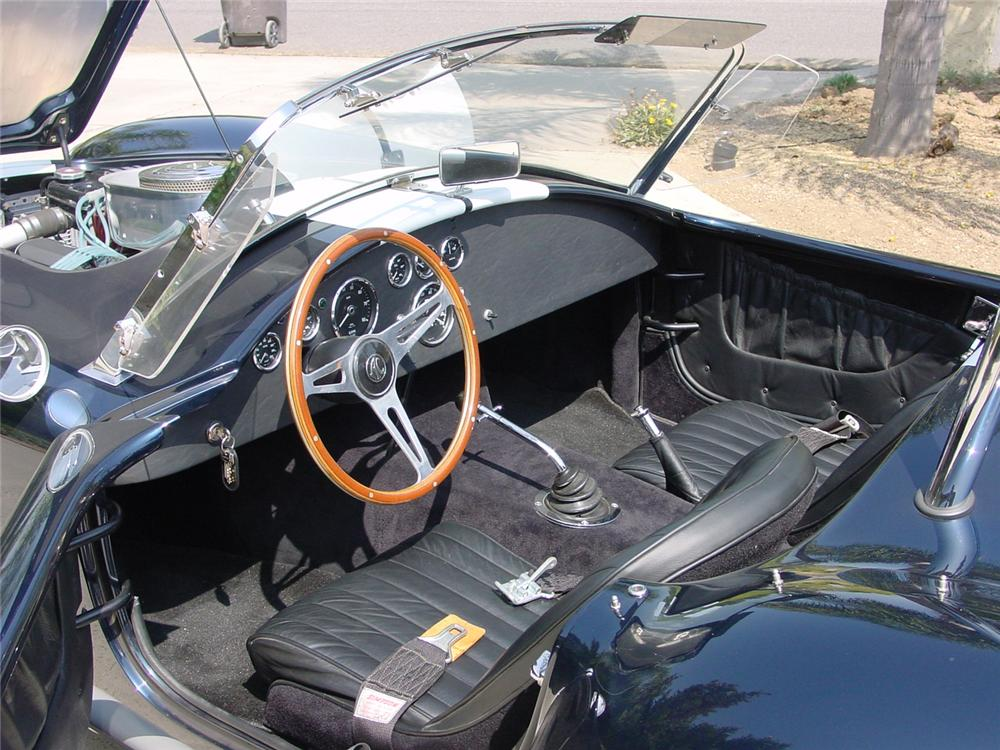 1965 SHELBY COBRA ROADSTER RE-CREATION - Interior - 60975