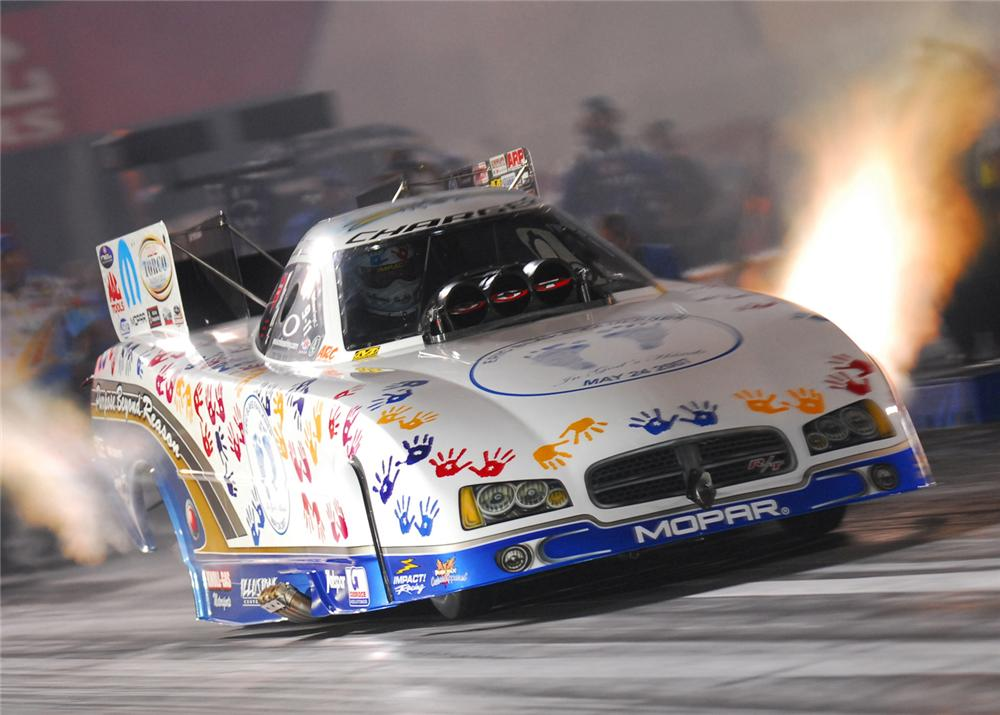 2007 DODGE CHARGER R/T CUSTOM NITRO FUNNY CAR - Front 3/4 - 60979