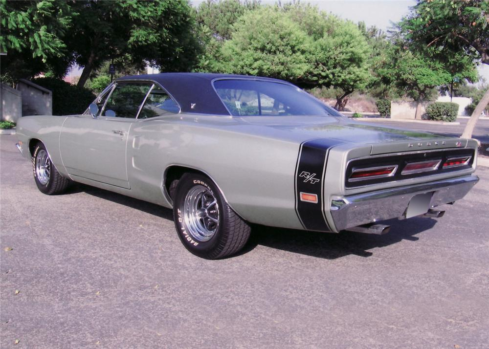1969 DODGE CORONET R/T 2 DOOR HARDTOP CUSTOM - Rear 3/4 - 60998