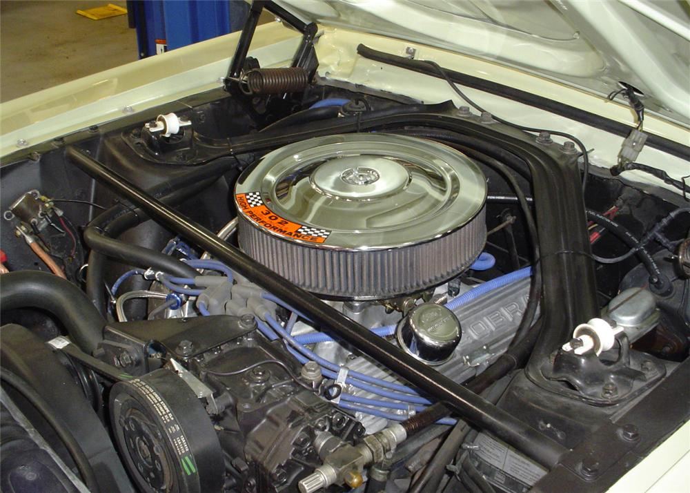 1968 FORD MUSTANG CALIFORNIA SPECIAL COUPE - Engine - 61001