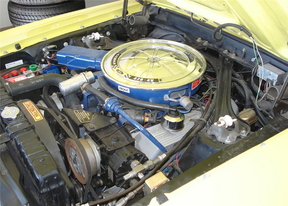 1970 FORD MUSTANG MACH 1 FASTBACK - Engine - 61002