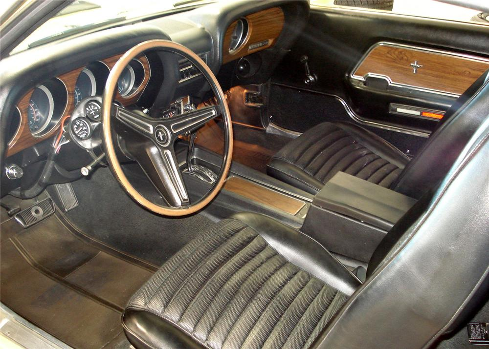 1970 FORD MUSTANG MACH 1 FASTBACK - Interior - 61002
