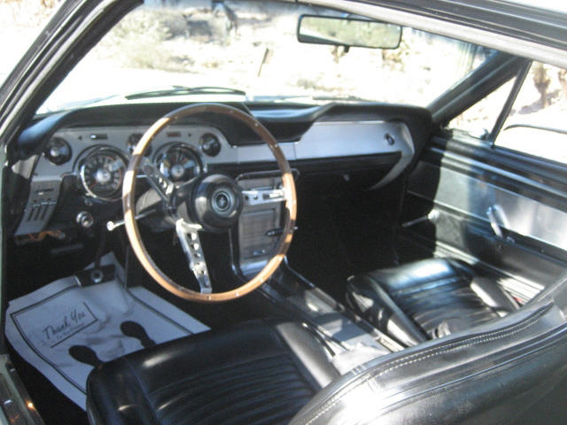 1967 FORD MUSTANG GTA FASTBACK - Interior - 61011