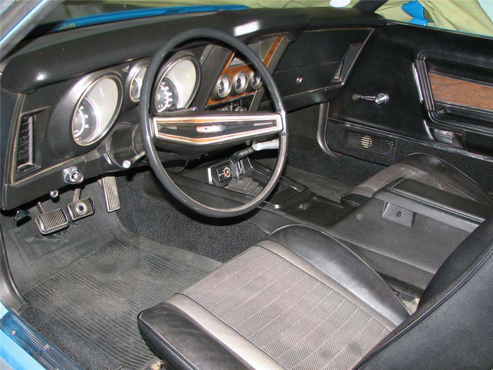 1971 FORD MUSTANG MACH 1 FASTBACK - Interior - 61017