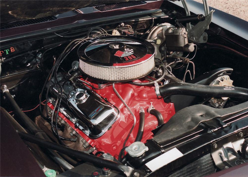 1967 CHEVROLET CAMARO RS/SS CONVERTIBLE - Engine - 61018