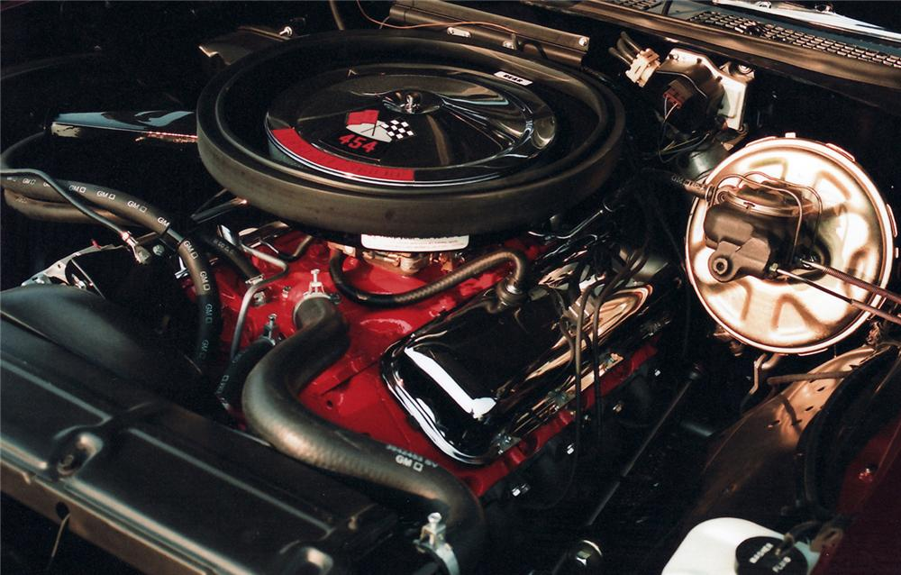 1970 CHEVROLET CHEVELLE SS CONVERTIBLE - Engine - 61019