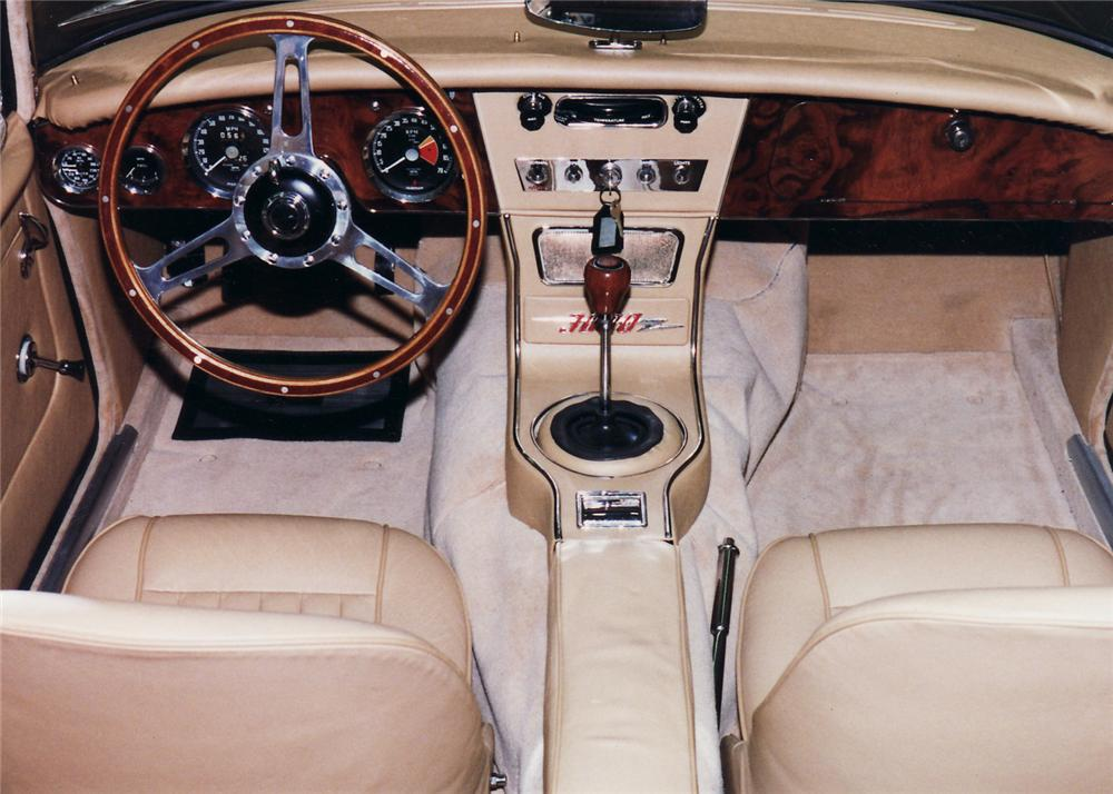 1966 AUSTIN-HEALEY 3000 MARK III BJ8 CONVERTIBLE - Interior - 61028
