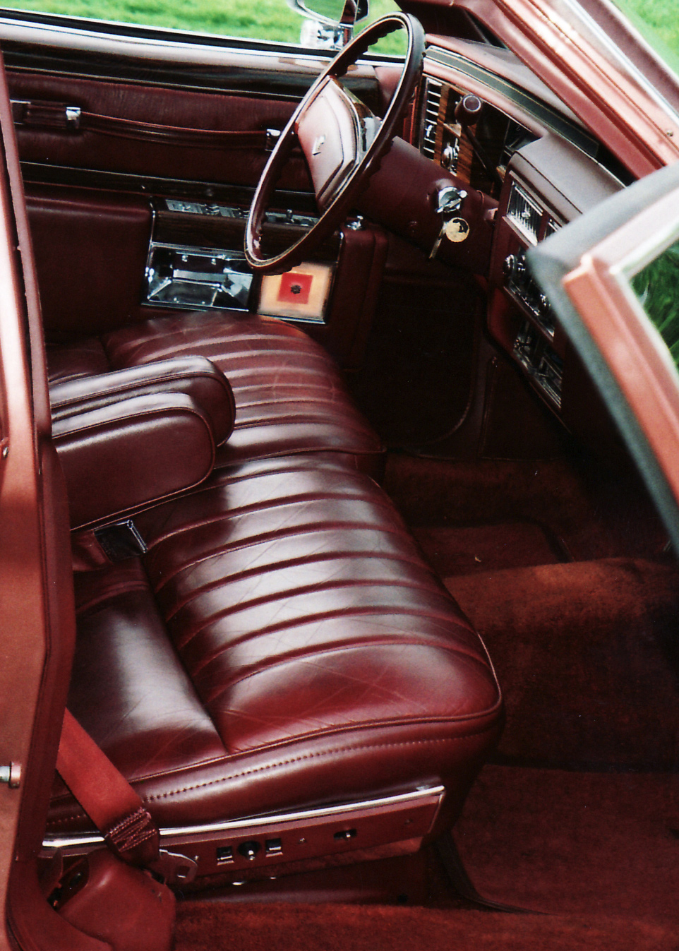 1978 CADILLAC DE VILLE 4 DOOR SEDAN - Interior - 61033