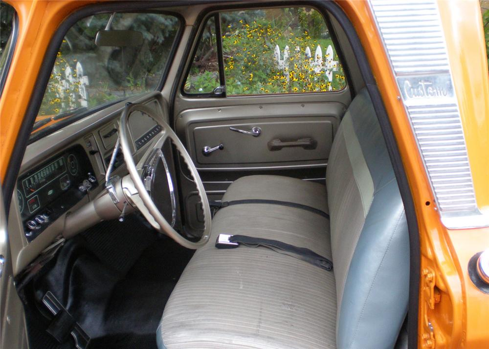 1965 CHEVROLET STEP-SIDE PICKUP - Interior - 61041