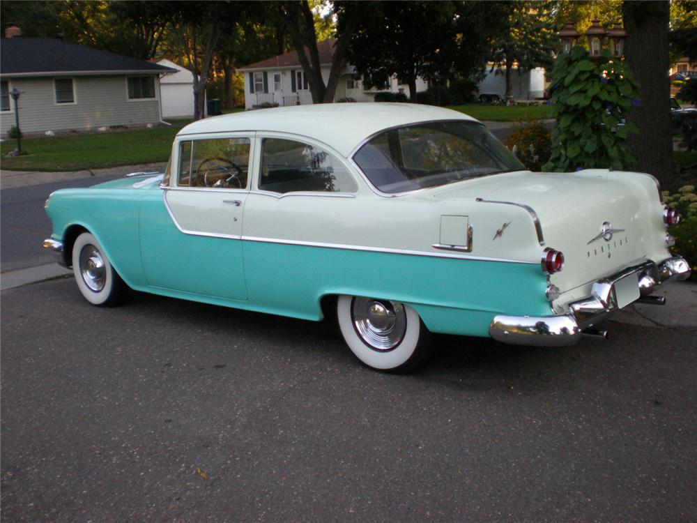 1955 pontiac chieftain 2 door hardtop 61051