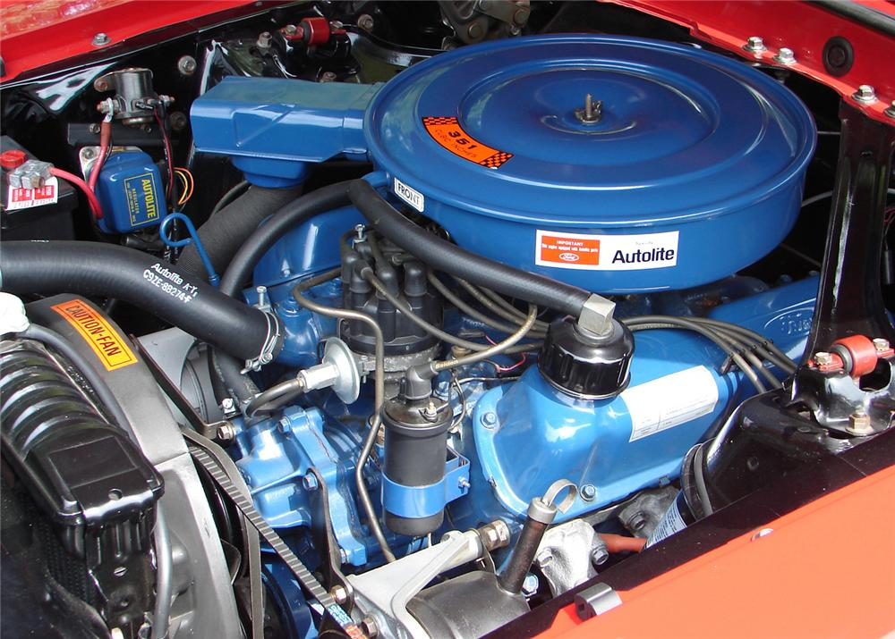 1969 FORD MUSTANG CONVERTIBLE - Engine - 61060