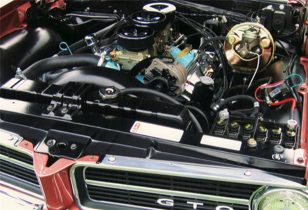 1964 PONTIAC GTO COUPE - Engine - 61062