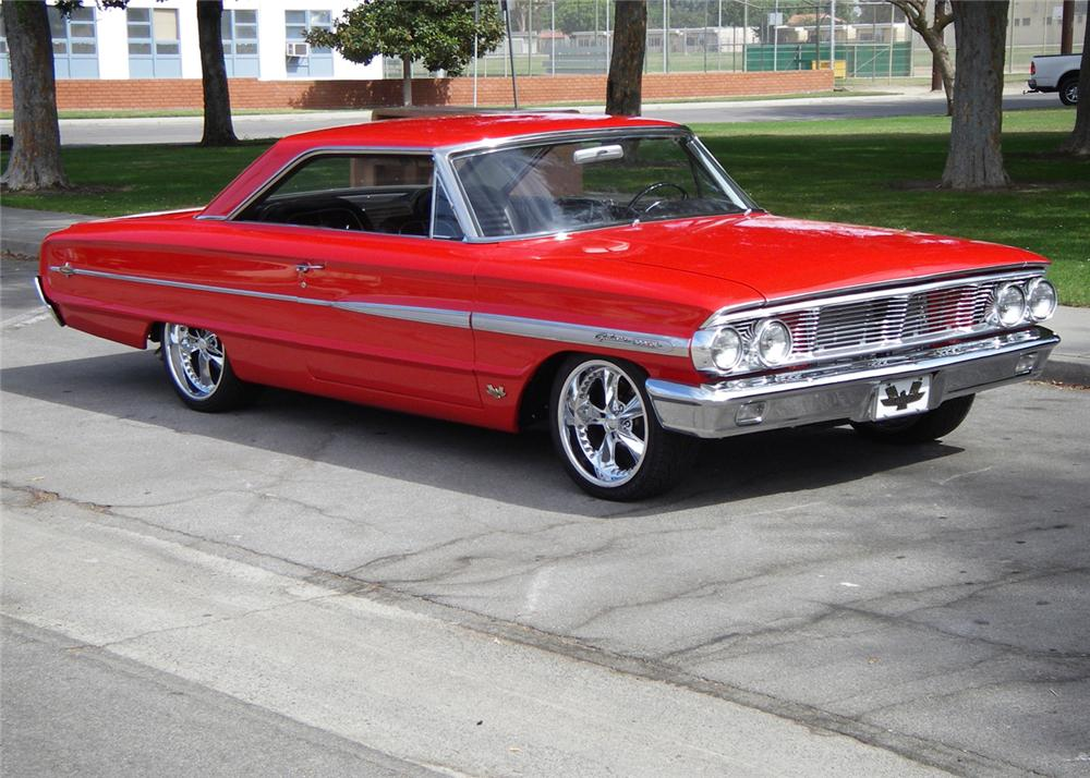 1964 ford galaxie 500 xl custom fastback. Black Bedroom Furniture Sets. Home Design Ideas