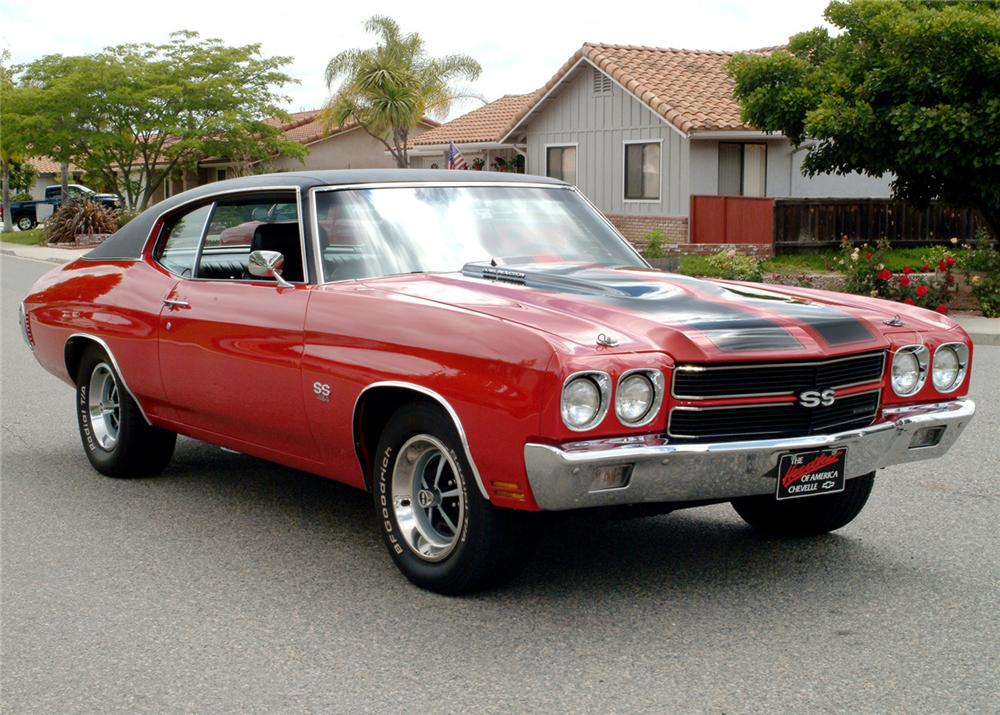 1970 CHEVROLET CHEVELLE SS COUPE RE-CREATION - Front 3/4 - 61069