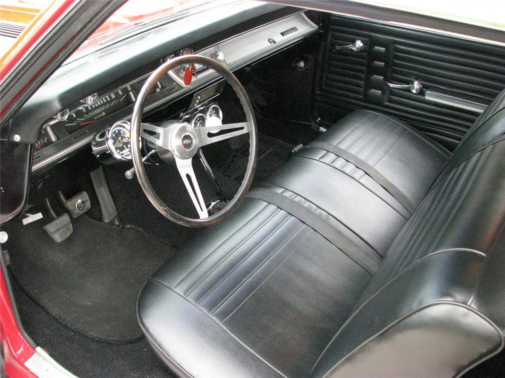 1967 CHEVROLET CHEVELLE SS 396 2 DOOR COUPE RE-CREATION - Interior - 61073