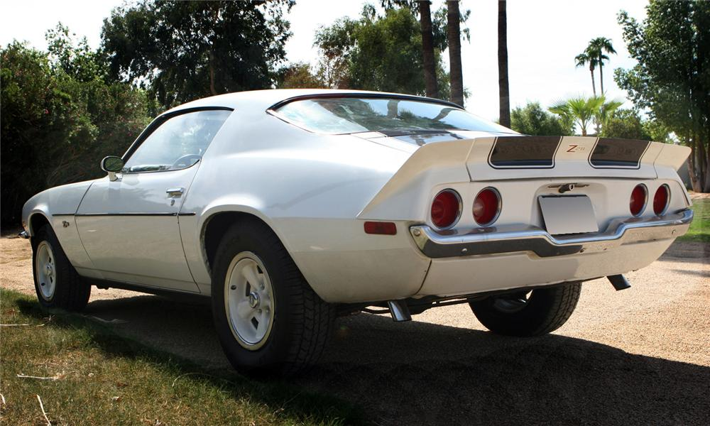 1973 CHEVROLET CAMARO Z/28 COUPE - Rear 3/4 - 61087