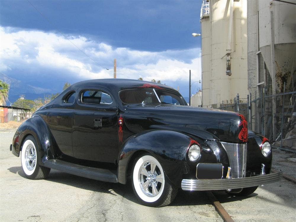 1940 ford 2 door hot rod coupe 61090 for 1940 ford two door sedan