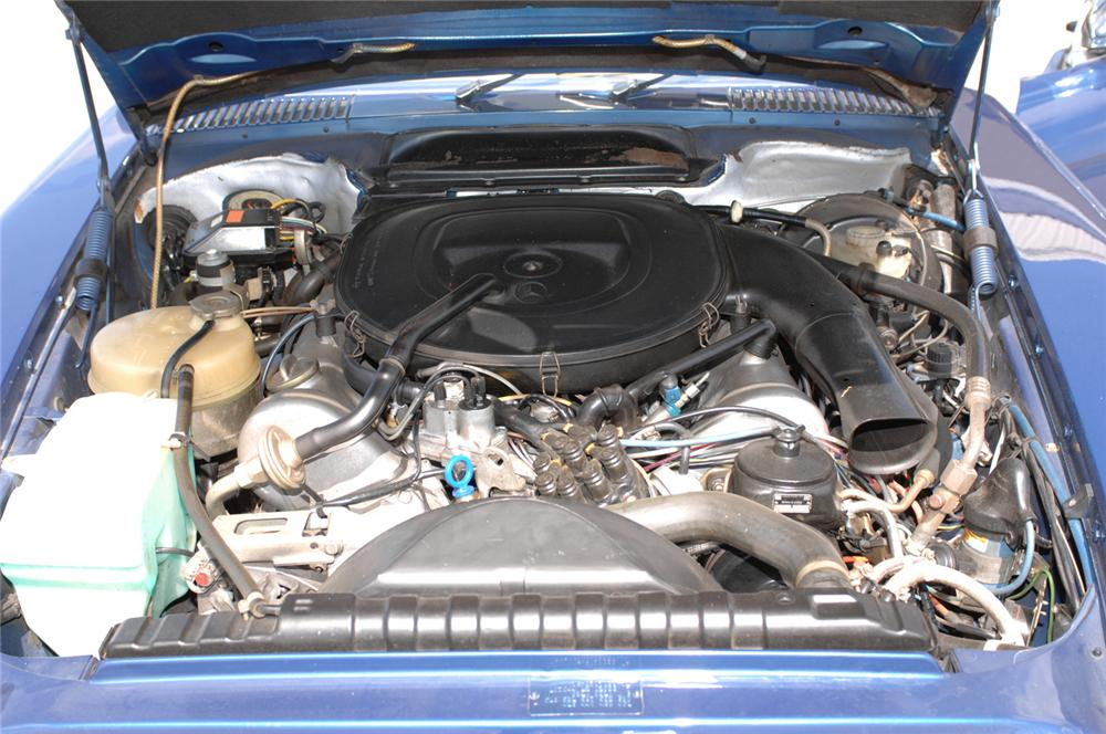 1979 MERCEDES-BENZ 450SL CONVERTIBLE - Engine - 61091