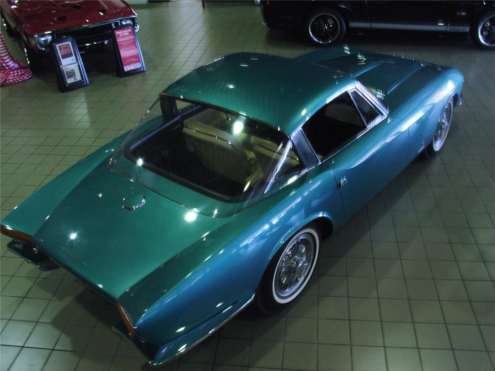 "1963 CHEVROLET CORVETTE COUPE ""RONDINE"" CONCEPT CAR - Rear 3/4 - 61096"