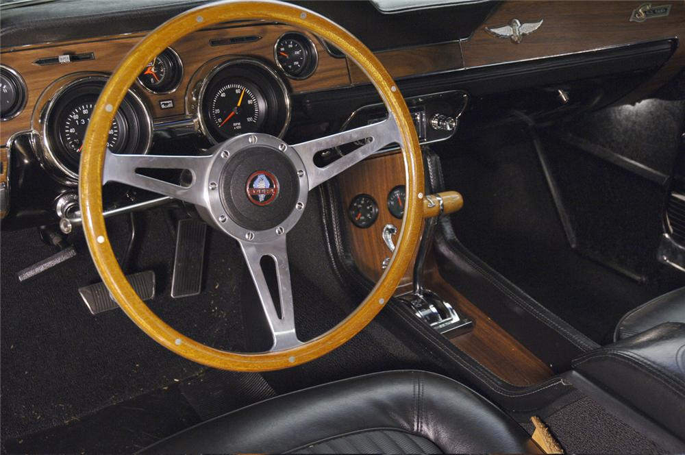 1968 SHELBY GT500 FASTBACK RE-CREATION - Interior - 61110