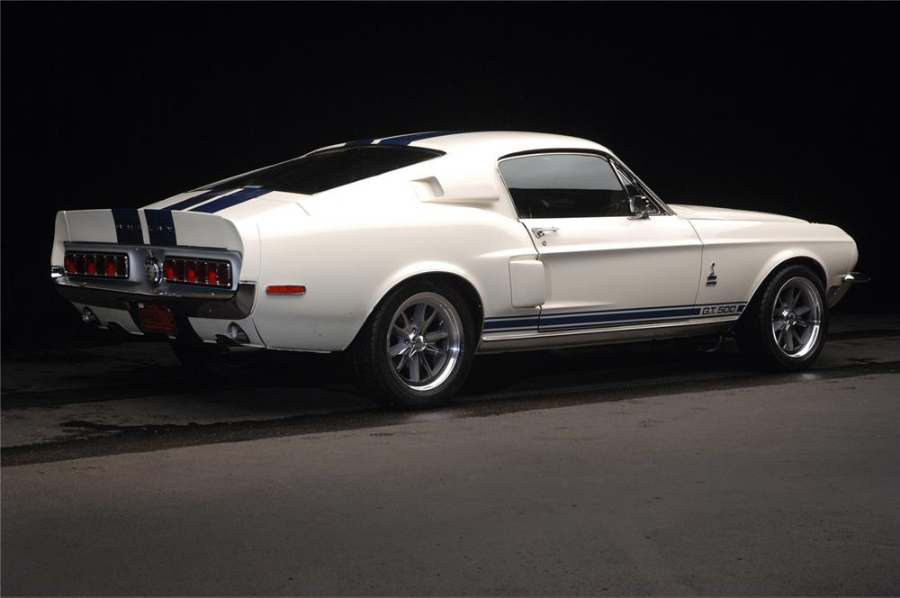 1968 SHELBY GT500 FASTBACK RE-CREATION - Rear 3/4 - 61110