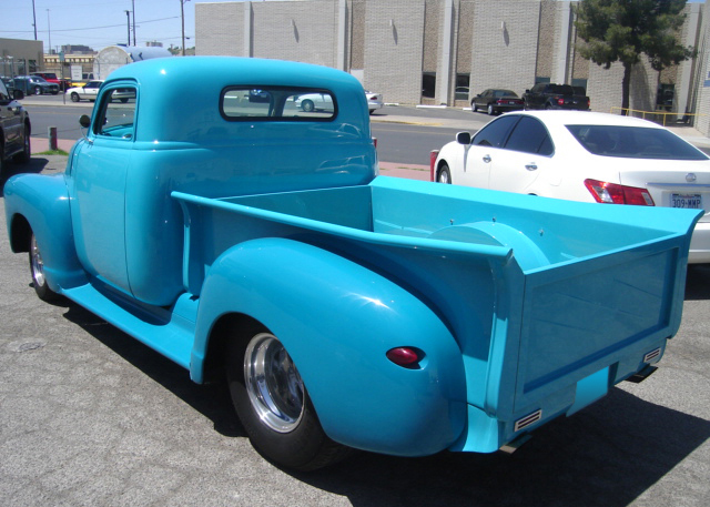 1947 CHEVROLET CUSTOM PICKUP - Rear 3/4 - 61111