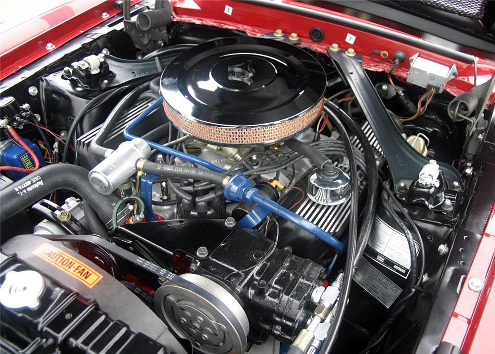 "1969 SHELBY GT500 CONVERTIBLE ""CARROLL SHELBYS"" - Engine - 61117"