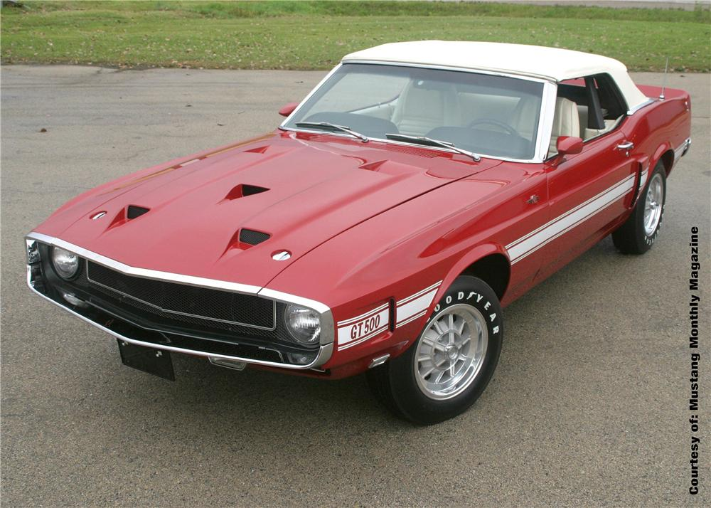 1969 SHELBY GT500 CONVERTIBLE 'CARROLL SHELBYS