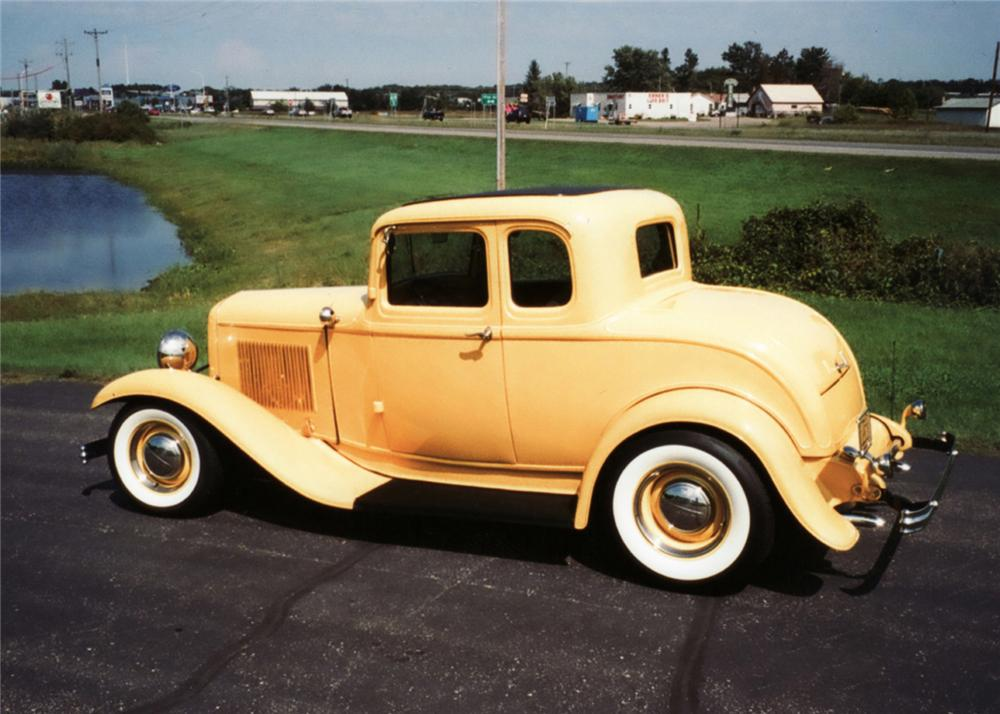 1932 ford 5 window custom coupe 61124 for 1932 ford coupe 5 window
