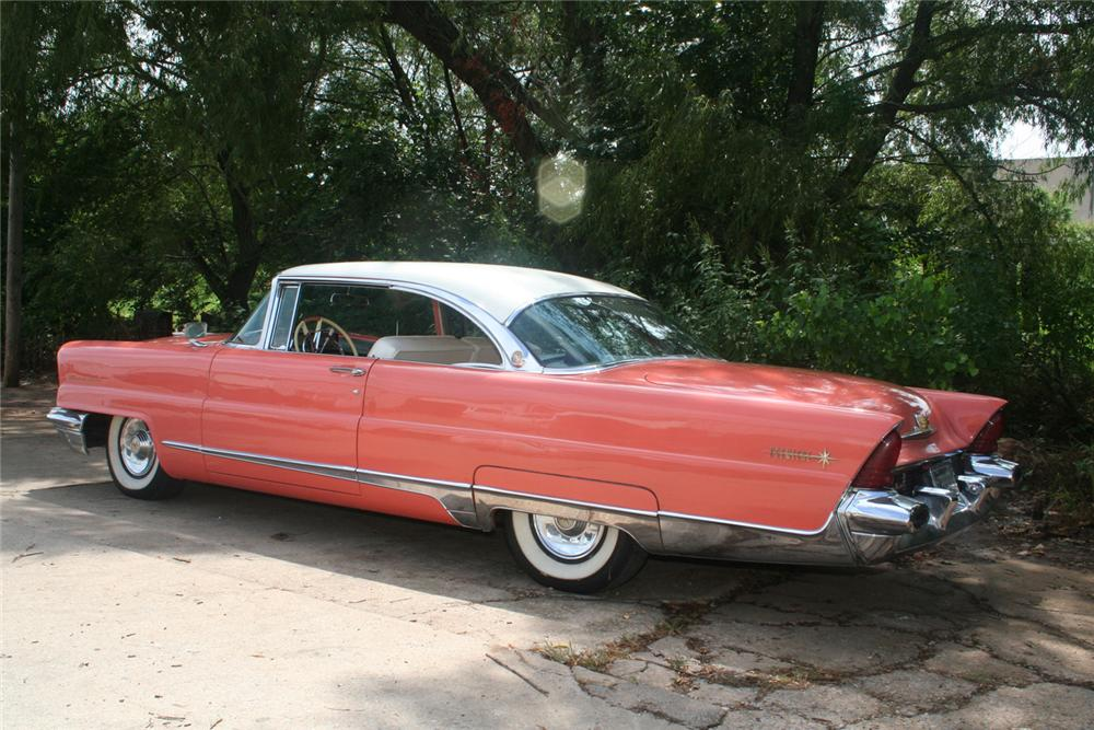 1956 LINCOLN PREMIER 2 DOOR HARDTOP - Rear 3/4 - 61136