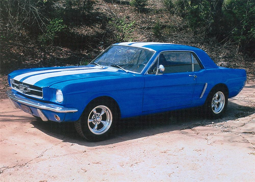 1965 ford mustang custom coupe 61140. Black Bedroom Furniture Sets. Home Design Ideas