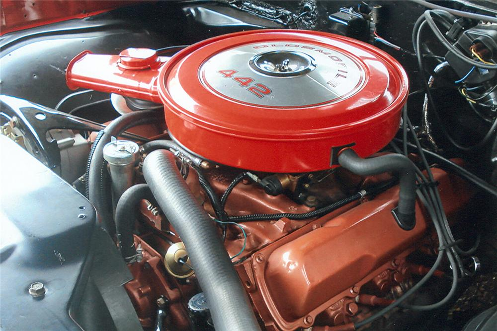1968 OLDSMOBILE 442 CONVERTIBLE - Engine - 61143