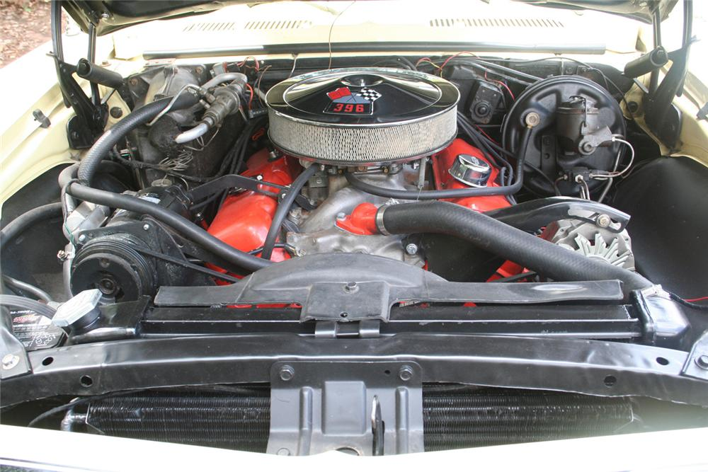 1968 CHEVROLET CAMARO COUPE - Engine - 61145