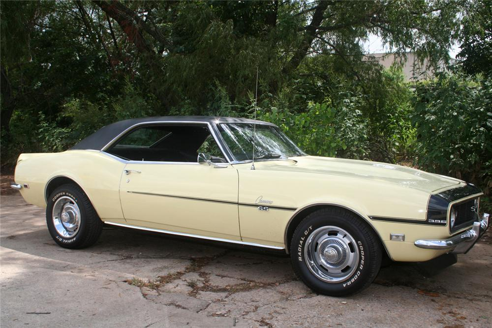 1968 CHEVROLET CAMARO COUPE - Side Profile - 61145