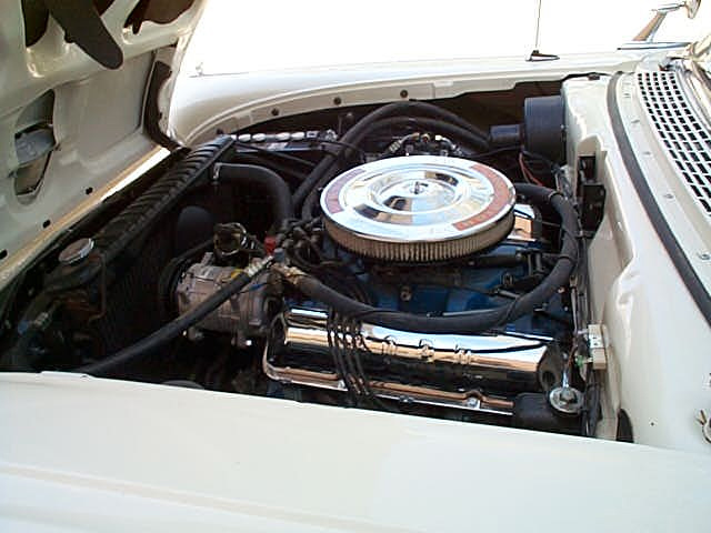 1958 FORD FAIRLANE RETRACTABLE - Engine - 61153