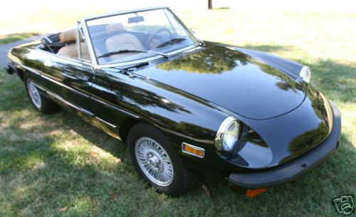 1976 ALFA ROMEO SPIDER CONVERTIBLE - Front 3/4 - 61159