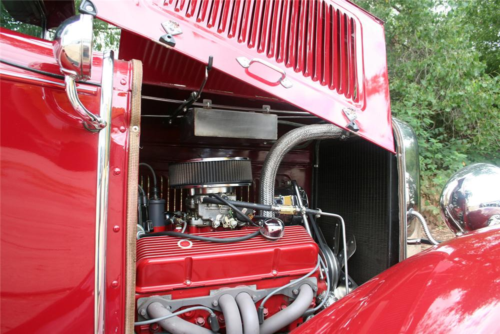 1930 FORD MODEL A CUSTOM COUPE - Engine - 61173