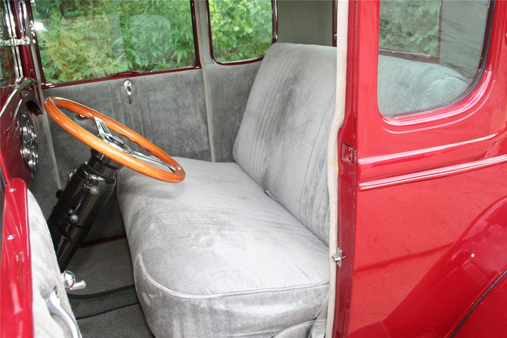 1930 FORD MODEL A CUSTOM COUPE - Interior - 61173