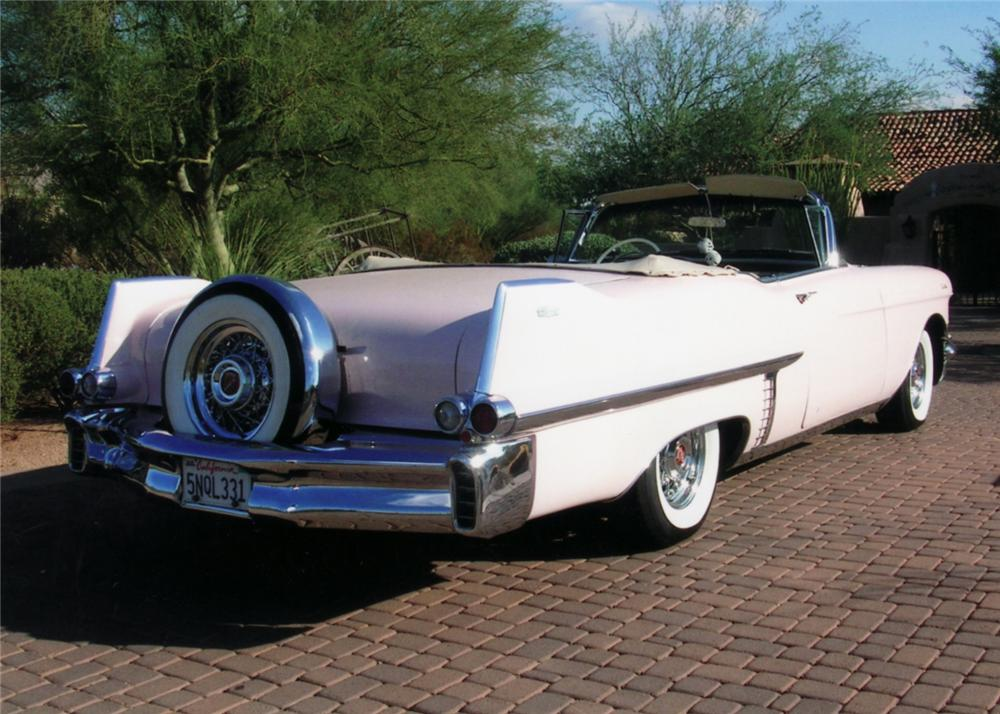 1957 CADILLAC SERIES 62 CONVERTIBLE - Rear 3/4 - 61191