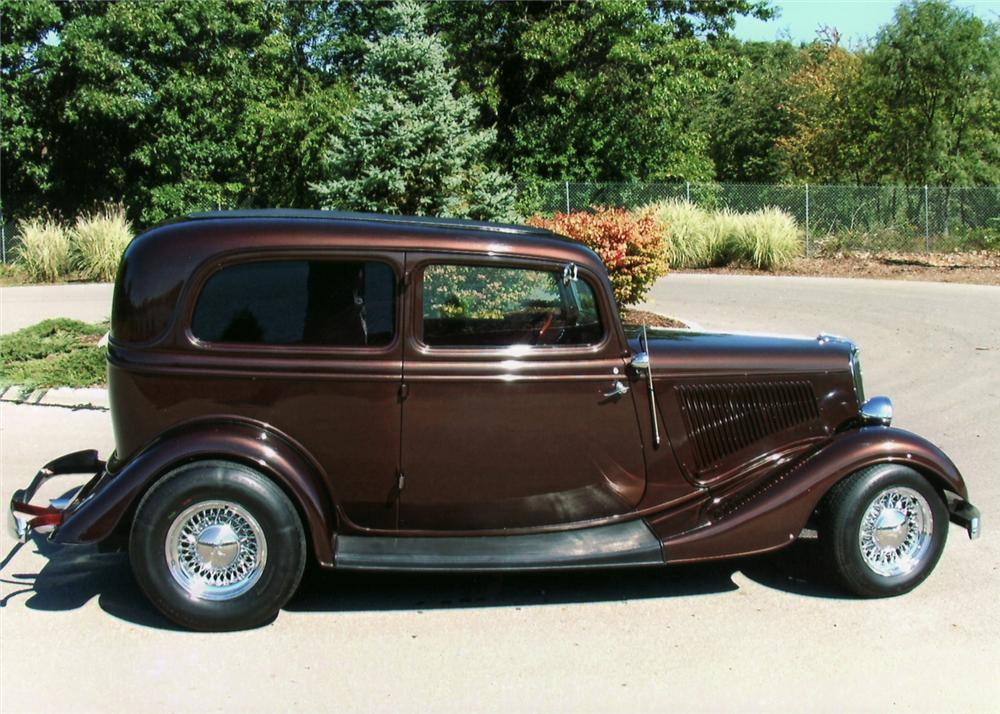 1934 ford street rod 2 door sedan 61202