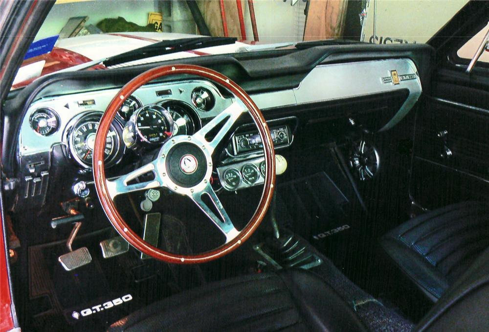 1967 SHELBY GT350 FASTBACK RE-CREATION - Interior - 61203