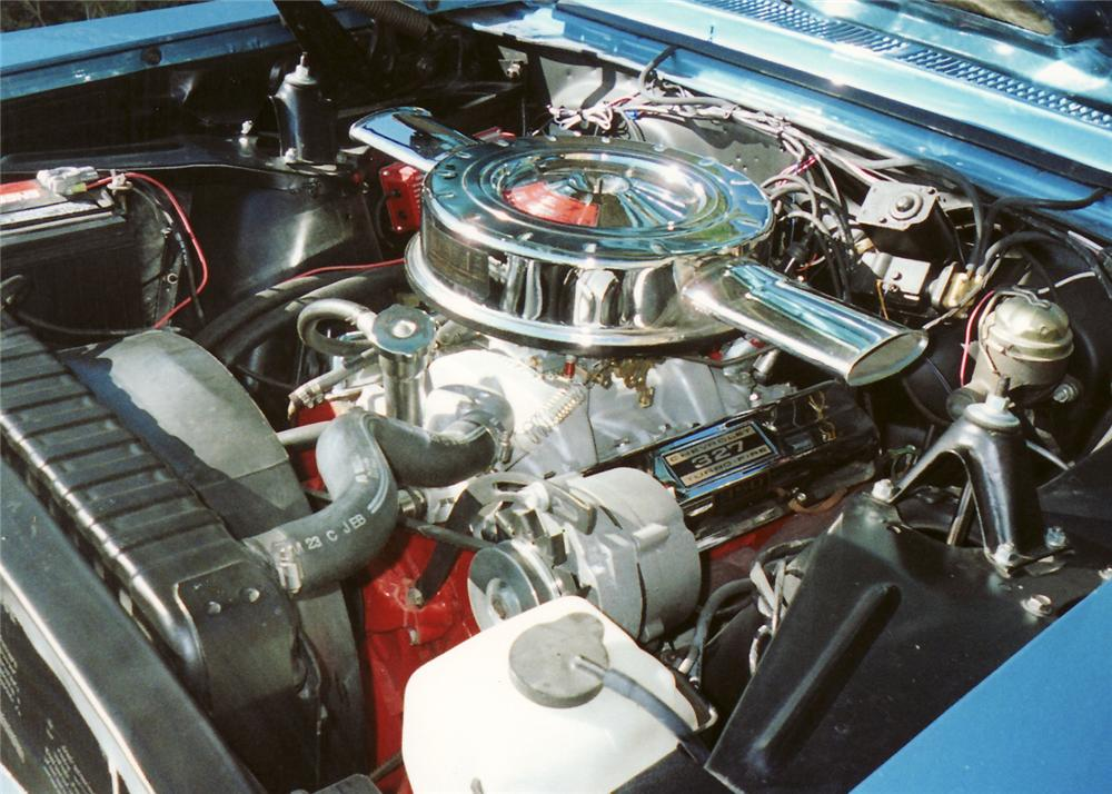 1966 CHEVROLET CHEVY II COUPE - Engine - 61214