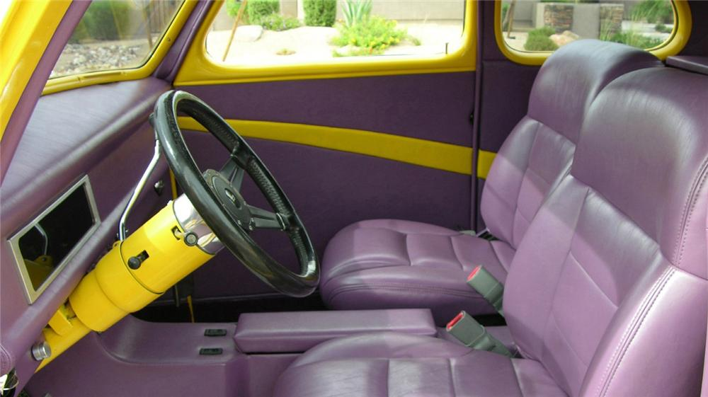 1941 FORD DELUXE CUSTOM COUPE - Interior - 61215