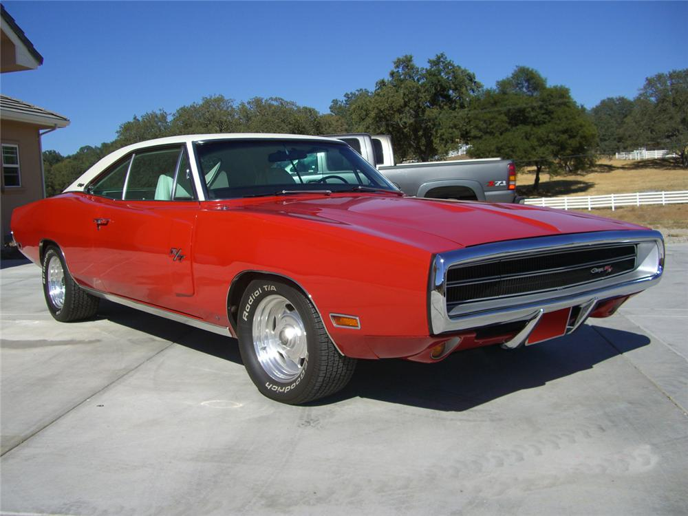 1970 DODGE CHARGER R/T 2 DOOR HARDTOP - Front 3/4 - 61224