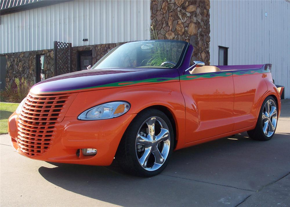 2003 CHRYSLER PT CRUISER CUSTOM ROADSTER - Front 3/4 - 61227