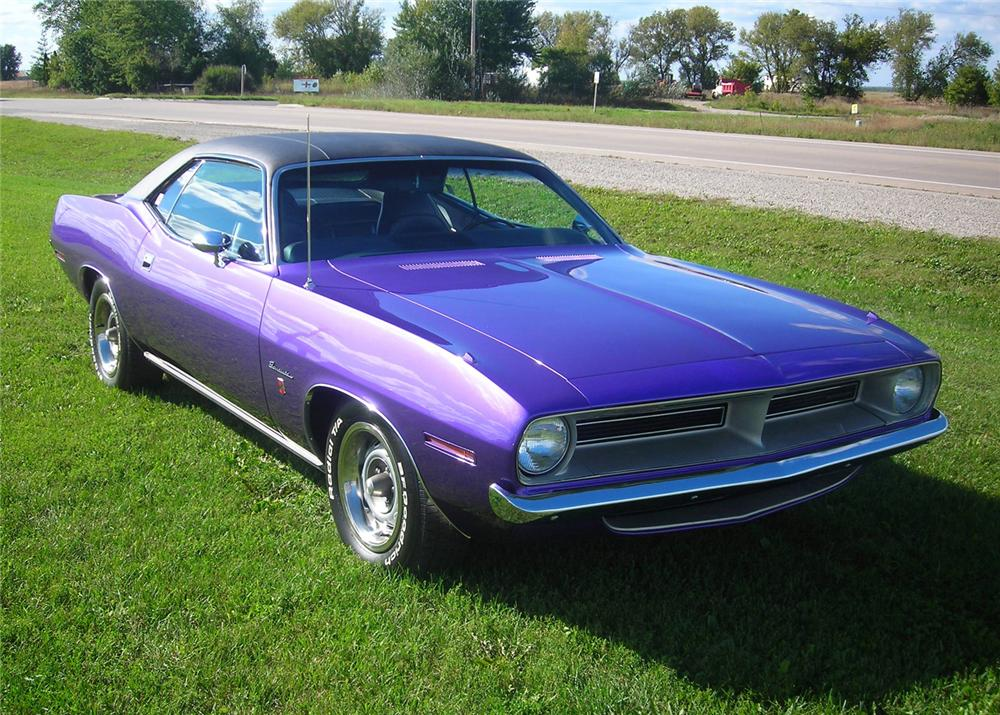 1970 PLYMOUTH BARRACUDA 2 DOOR GRAND COUPE - Front 3/4 - 61237