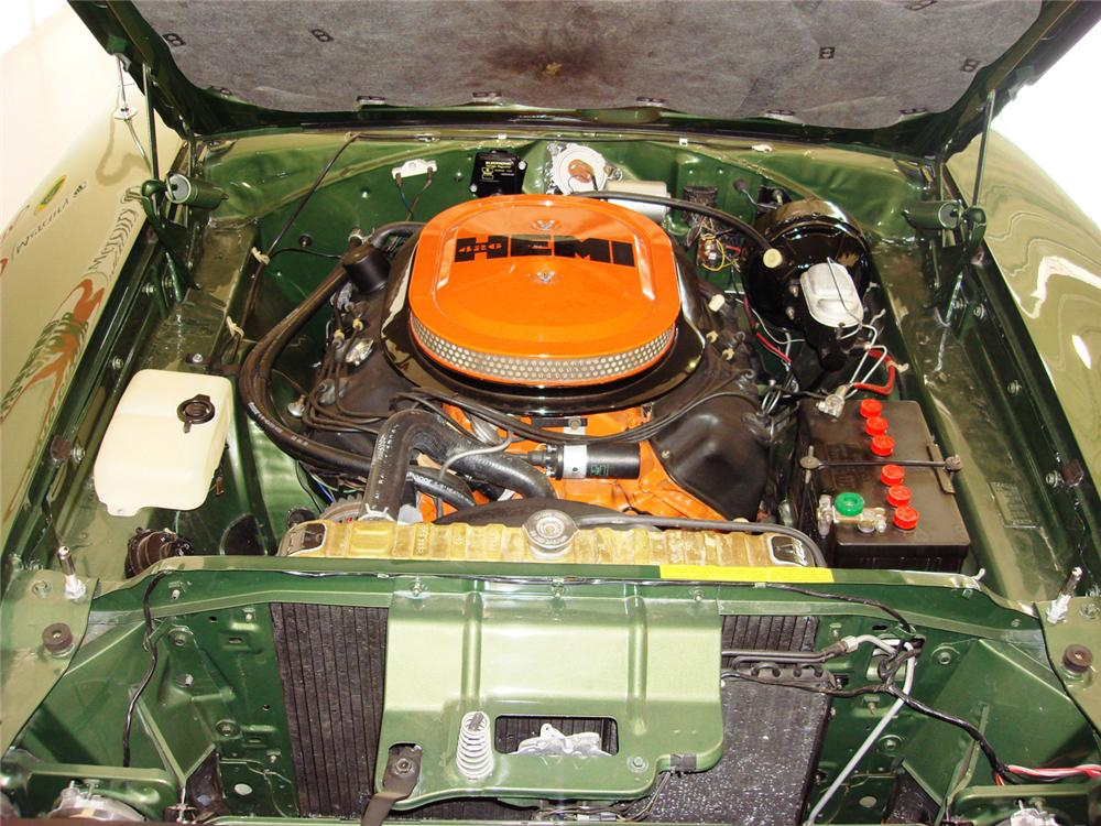 1970 DODGE HEMI CHARGER R/T COUPE - Engine - 61241
