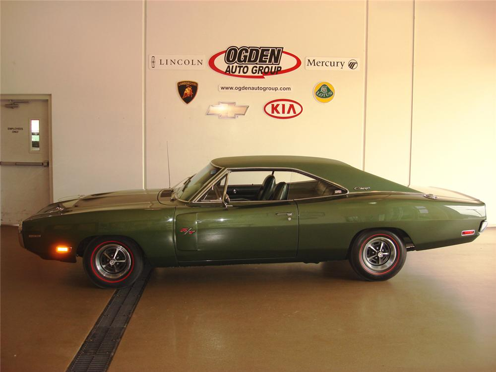 1970 DODGE HEMI CHARGER R/T COUPE - Side Profile - 61241